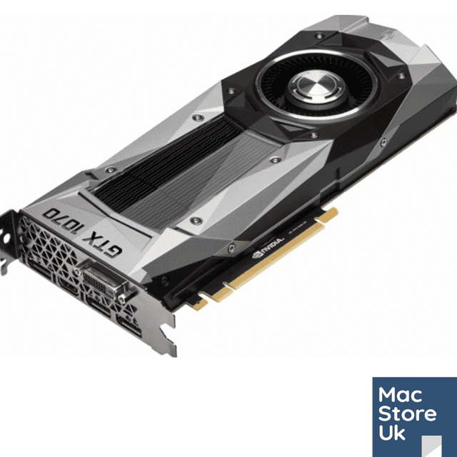 Nvidia GTX 1070 8GB by MacVidCards